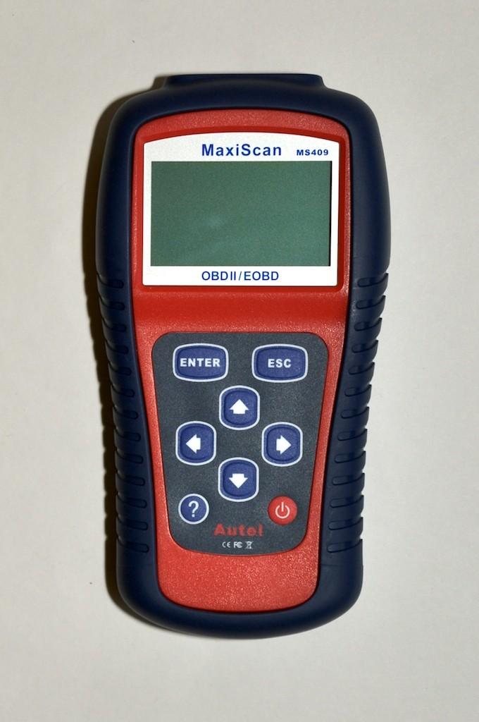 MS409 OBD2 Scanner front