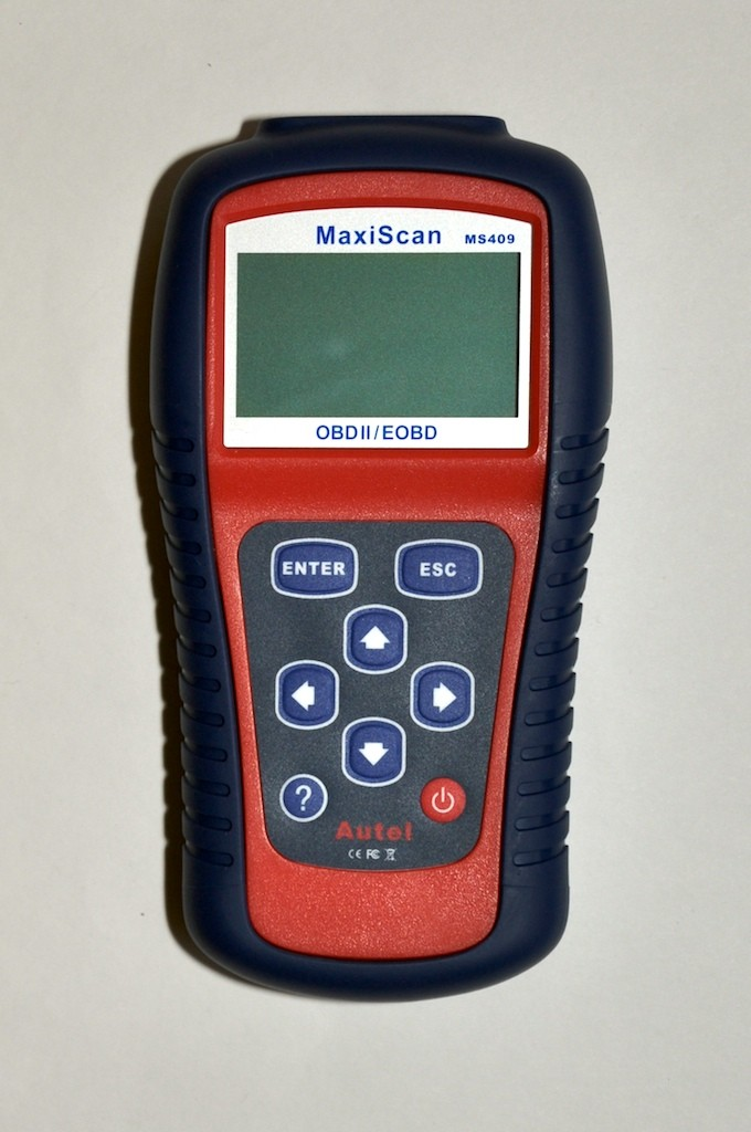 MS409 OBD2 Scanner front