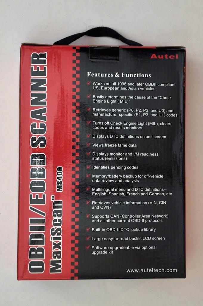 MaxiScan MS409 OBD II Scanner